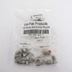 V40-482 - Martin 100 Bolt & Drain Plug Kit