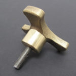 V40-575 - Martin 500 Tee Handle, Bronze w/ S.S. Stud