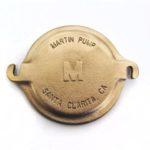 """V40-463 - Martin 100 5"""" Brass Pump Lid"""
