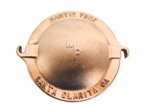 """V40-573 - Martin 500 - 8"""" Brass Pump Lid"""