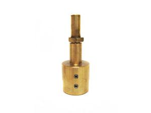 V40-559 - Martin 500 Brass Pump Shaft w/Nut & Set Screws